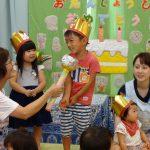 8月の誕生会の様子