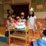 9月生まれの誕生会!+a……!