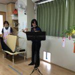 七夕会 ママのフルート生演奏に子ども達の拍手